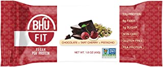 BHU BAR Tart Cherry Pistachio HIGH Protein BAR Pack of 12