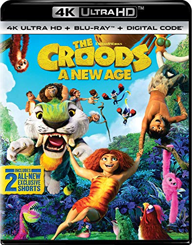 The Croods: A New Age (4k Ultra HD + Blu-ray + Digital Code)