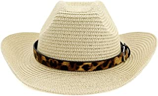 Xiang Ye Western Cowboy Hat Sun Hat For Men Cowgirl Summer Hats For Women Lady Straw Hat Beach Cap