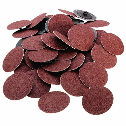 Roloc sanding Disc – 25 Piece Set of Heavy Duty and Durable 3 inches 240 Grit Sander - Automotive, Tools & Equipment, Body Repair Tool - By Katzco