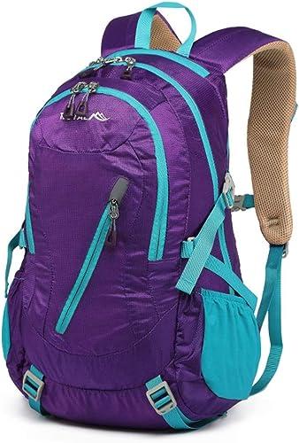 Sac Dos Knapsack sac à dos sac à dos Sacs Sports Plein Air Sac à Dos Unisexe Ultra-léger pour Le Voyage, La Marche, Le Vélo, La Randonnée Ou des Sacs à Dos Polyvalents ZHAOYONGLI