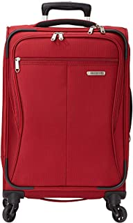 Lamont 20 Inch Expandable Carry-On Spinner (Tuscany Red)
