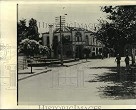 1939 Press Photo Palace belonging to King Zog of Albania's sister in Tirana - Historic Images