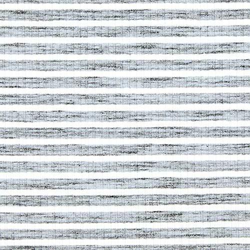 Fabulous Fabrics Rippenstrick Streifen Melange – hellgrau — Meterware ab 0,5m — zum Nähen von Kleider, Tops und Pullover
