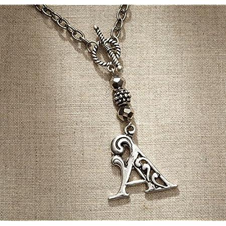 Letter Z 4047983 jewelry authentic free ship Jim Shore Enesco Monogram Necklace