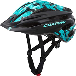53-59cm UNI Cratoni Casco Bicicletta Bicicletta Casco AllRide rosso//nero opaco MTB