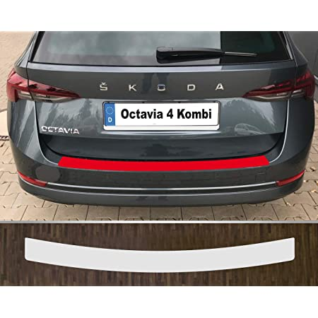 Is Tuning Passgenau Für Skoda Octavia 4 Kombi Lackschutzfolie Ladekantenschutz Transparent Auto