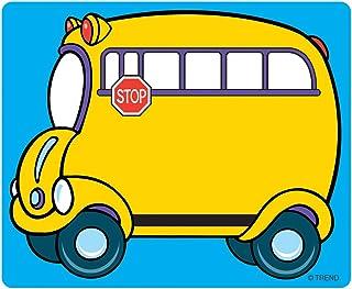"TREND enterprises, Inc. Self Adhesive Name Tags, School Bus, 2-1/2"" x 3"", 36 count"
