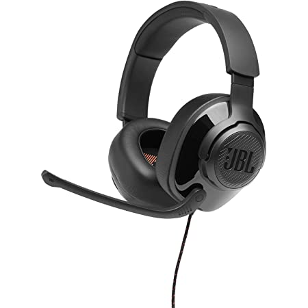 JBL Quantum 200 - Wired Over-Ear Gaming Headphones - Black