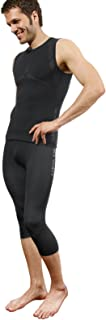 THE MOBILE SOCIETY leggings Capri Uomo Intimo Sportivo Traspirante Senza Cuciture Seamless Made in Italy