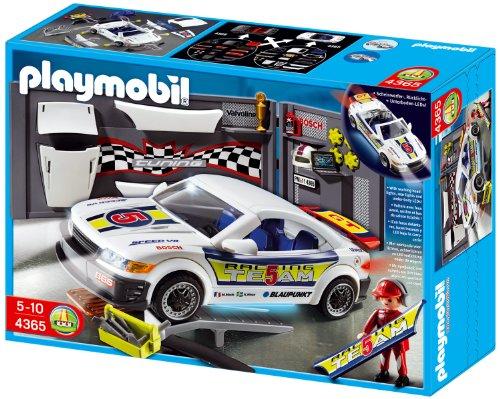 Playmobil 4365 - Pit-Stop auto da corsa con luci