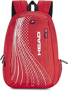HEAD Sprint 18 Ltrs Red Laptop Backpack (HD/SPR04BP)