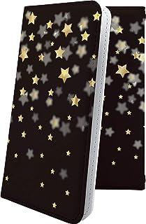iPhoneX ケース 手帳型 流れ星 星 星柄 星空 宇宙 夜空 星型 アイフォン アイフォン10 エックス テン ケース 手帳型ケース おしゃれ iphone x ケース かっこいい 10016-njfekg-10001540-iphone x