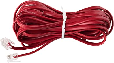 Telephone Line Cord Extension - Crimson Red 15ft