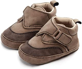 PanGa Baby Boys Girls Infant Anti-Slip Winter Booties Soft Sole Warm Slippers Toddler First Walker Suede Sneakers Newborn Crib Shoes