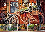 Stadtfahrrad (Tischkalender 2021 DIN A5 quer)