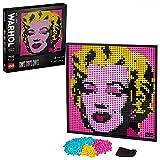 LEGO31197ArtAndyWarhol'sMarilynMonroePósterdeColeccionista,DecoracióndePared,SetdeConstrucciónparaAdultos