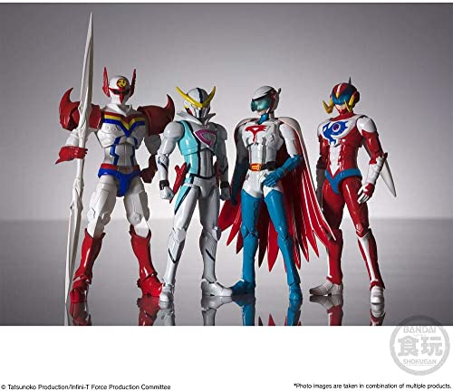 Bandai Infini-T Force Shodo Actionfiguren 4er Pack 10cm