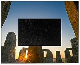 CafePress Stonehenge at Sunrise Decorative 8x10 Picture Frame