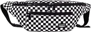 Danse Jupe Canvas Checkerboard Fanny Waist Pack Unisex Belt Cell Phone Bag