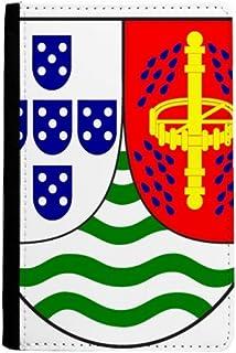 Sao Tome and Principe National Emblem Passport Holder Notecase Burse Wallet Cover Card Purse