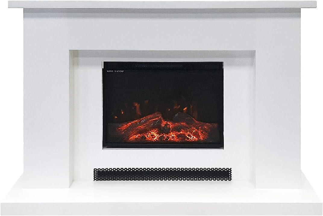 """Camino elettrico """"david"""" riscaldamento a 2 livelli e fiamma a 4 livelli xone 5537-HOME00345"""