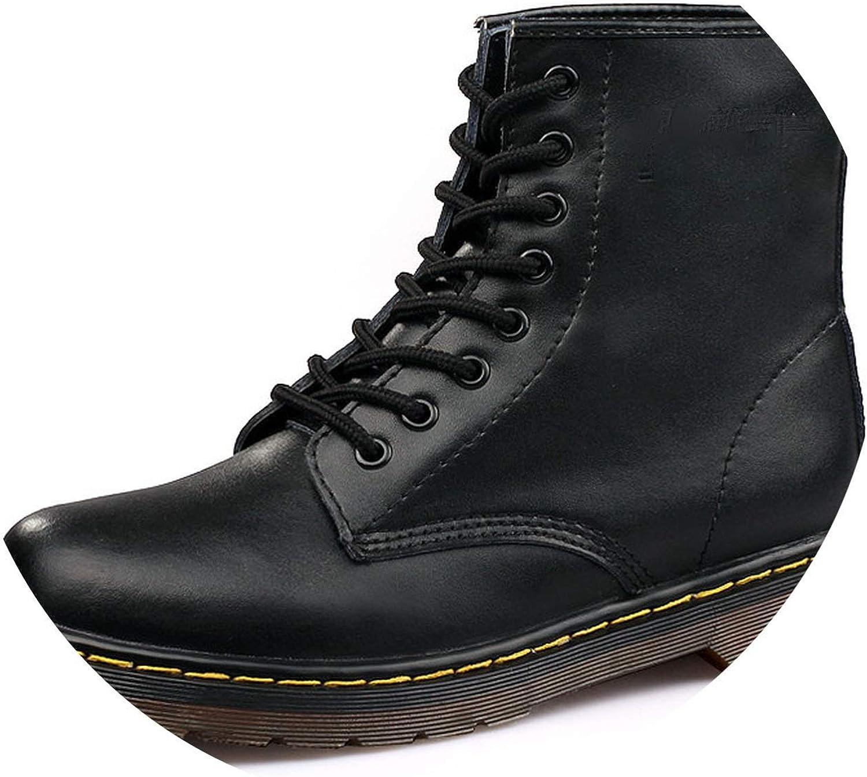 Men Boots Winter Warm Leather Martens shoes Ankle Boots Autumn shoes Men
