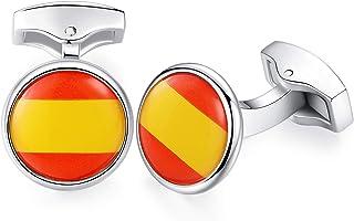 Amazon.es: bandera españa - Gemelos / Gemelos y camisas accesorios ...
