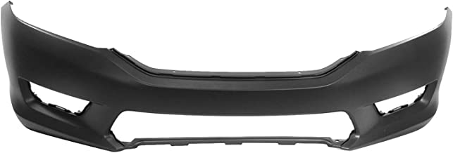 MBI AUTO - Painted to Match, Front Bumper Cover Fascia for 2013 2014 2015 Honda Accord Sedan 13 14 15, HO1000288