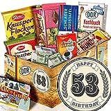 Geschenk zum 53. / Schokoladenset DDR / Geschenke zum 53 Geburtstag Mutter