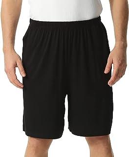 amropi Men's Lounge Shorts Nightwear Loose Fit Pyjama Bottoms Summer Sports Shorts