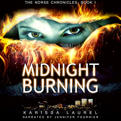 Midnight Burning (Norse Chronicles) audiobook cover art