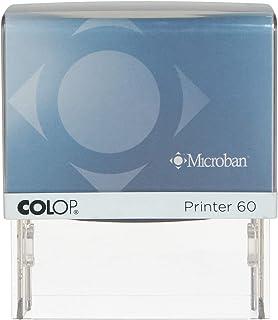 Colop Microban Printer 60 Rectangle Stamp, 37x76 mm