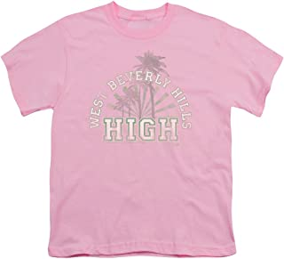 90210 Big Boys West Beverly Hills High T-Shirt in Pink
