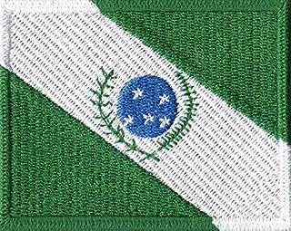 Patch Bordado - Bandeira Do Paraná Pequena BD50291- Fecho de Contato