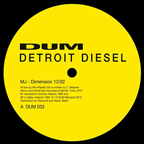 Dimension (MJ Remix) by Detroit Diesel on Amazon Music - Amazon com