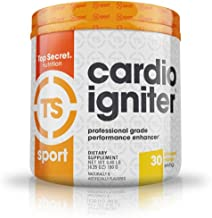 Top Secret Nutrition Cardio Igniter Pre-workout Supplement with Beta-alanine, L-Carnitine, and Beet Root Extract, 6.35 oz....