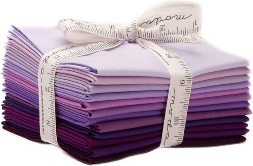 Bella Solids Purples 12 Fat 128 Moda Fabrics Max 57% service OFF Quarters 9900AB