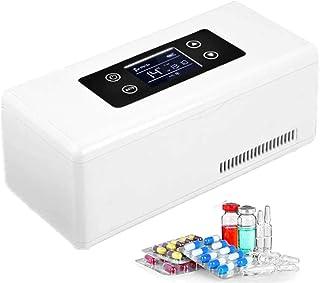 GBHJJ bärbart kylfodral med isolin, 12 timmars isolerad kylbox 2-25 tum termostat läkemedelskåpa portabel bil kylskåp kyla...