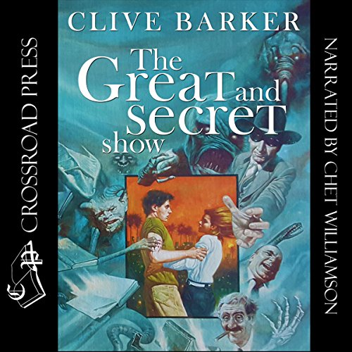 Great & Secret Show                   By:                                                                                                                                 Clive Barker                               Narrated by:                                                                                                                                 Chet Williamson                      Length: 22 hrs and 24 mins     501 ratings     Overall 4.1