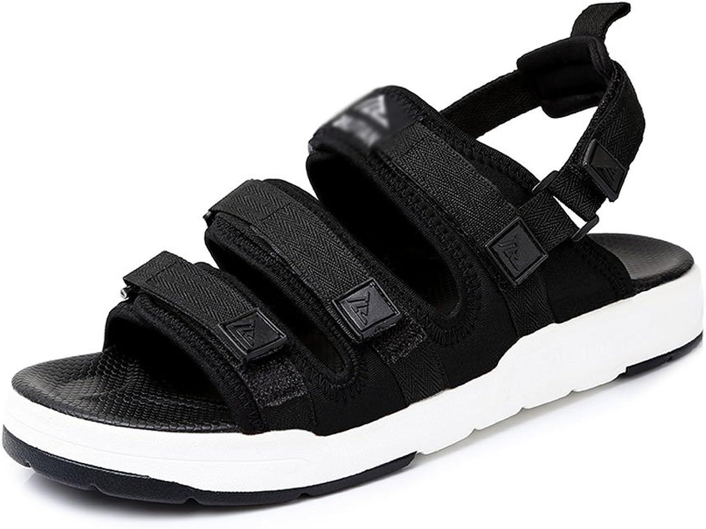 YM Men's sandals Men's Extra Large Sandals Summer Student shoes Widen Casual Beach shoes Large Breathable Men's shoes(6 Sizes)