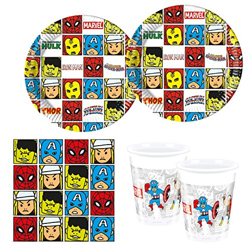Procos 10118253Party Set Avengers Team Power