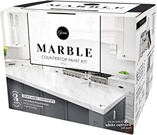 Giani Marble Countertop Paint Kit, Carrara White