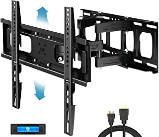 Everstone Full Motion TV Wall Mount with Height Adjustment for Most 32-65 inch LED, LCD, OLED Flat&Curved TVs, Bracket Swi...