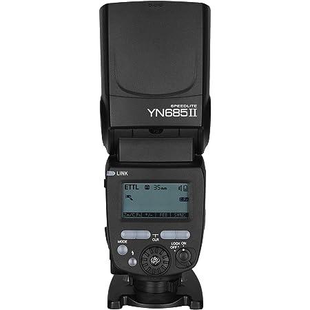 Yongnuo YN685II Flash Speedlite GN60 ETTL HSS + 2.4G Wireless Trigger System Master Slave for Canon 5DIII 6DII 800D 77D 7D2 T4i T3i 1300D 70D