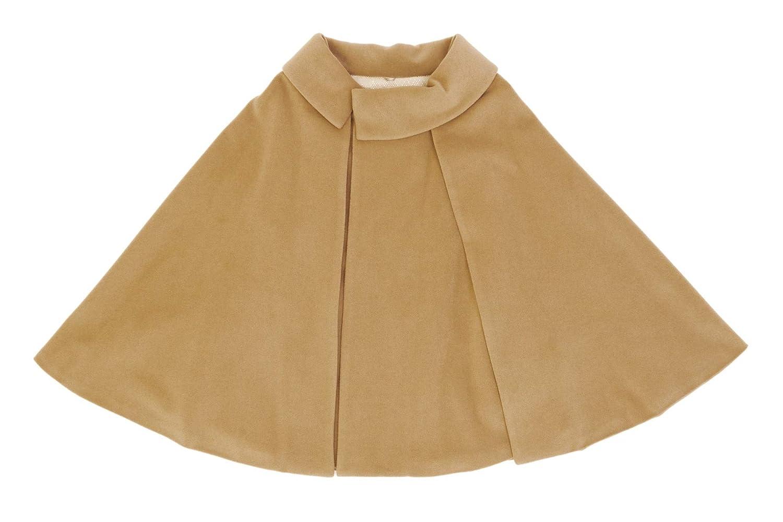 (ソウビエン) ケープコート ポンチョ 茶系 ロールカラー アンゴラ 毛 ウール シャルム加工 秋 冬 女性用 日本製
