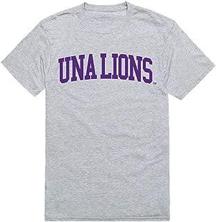 UNA University of North Alabama Mens Game Day Tee T-Shirt Heather Grey