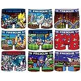 FREEGUN The Hedgehog 14/16 Pack Infantil Sonic Talla 14/16, Surtido 3pcs Hombre T1008-1, 14-16 para Niños
