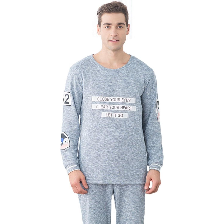 [ファイン?ショップ]パジャマ メンズ レディース カップル 綿 長袖 部屋着 無地 ポケット付き コットン 春秋用ルームウェア 上下セット 吸汗速乾 安眠 プレゼント ギフト 柔らか 着心地抜群 父の日 母の日