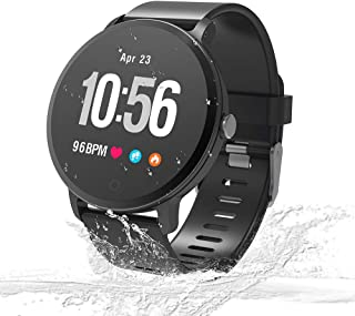 Unique-Fit Smart Watch Fitness Tracker Smart Watch IP67 Waterproof Activity Tracker Sleep Monitor, Step Counter, Smart Sports Watch for Kids Women and Men